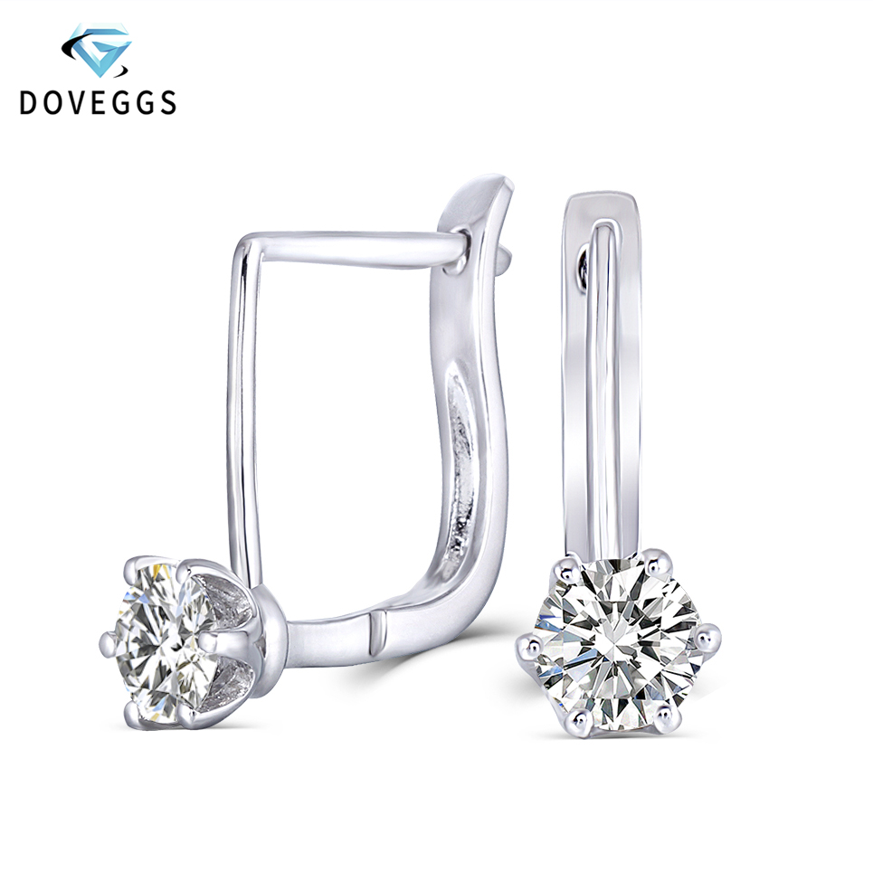 moissanite earrings 1