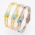 3 Styles Design Luxury Brand Bracelet Womens Stainless Steel Heart Zircon Bracelet Bangle For Women Jewelry Wedding Bracelet