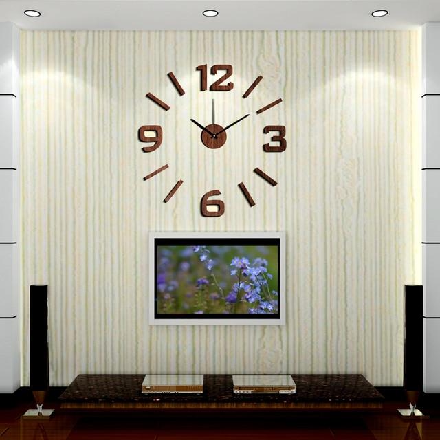 Nuovo arrivo 10ew101 moda sticker eva cucina orologio da parete in ...