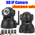 Новое поступление wi-fi HD IP камера беспроводной инфракрасный ик-stereo камеры видеонаблюдения безопасности сети веб-камера ipcam двусторонний аудио обнаружения движения