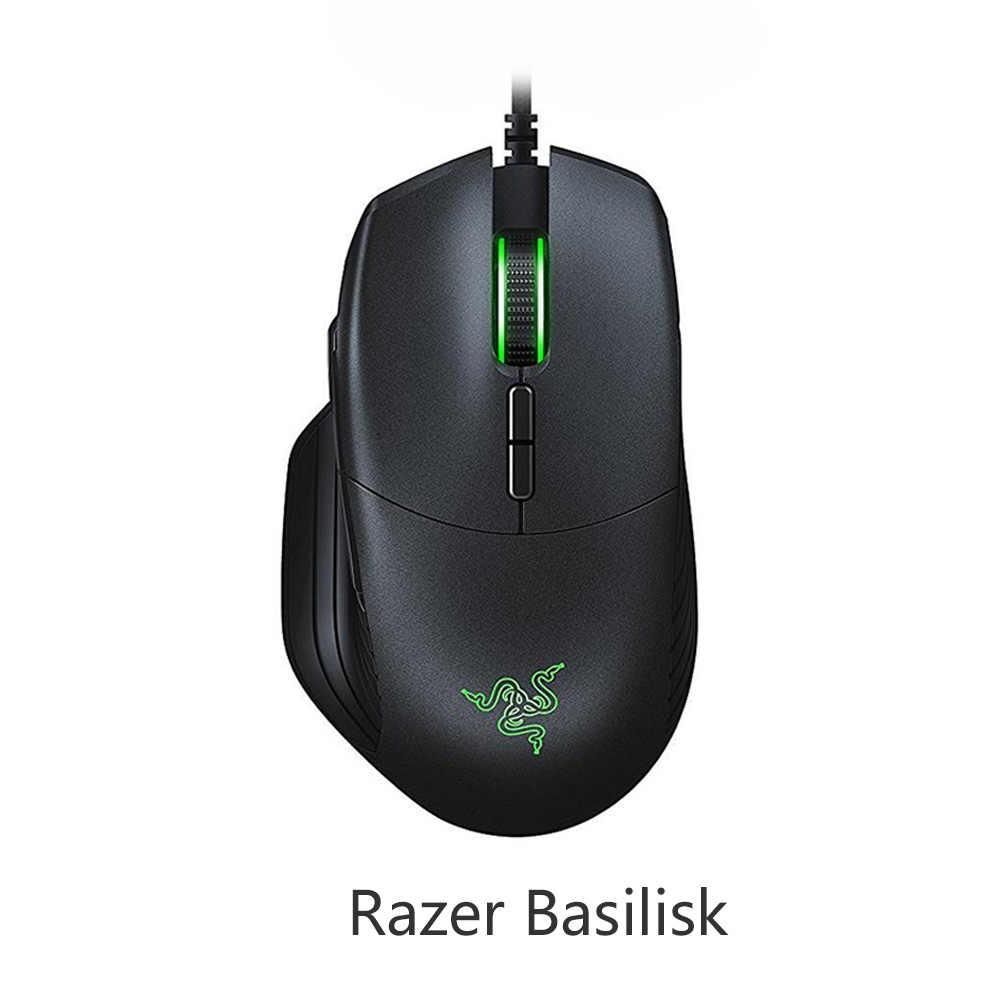 Seria Razer Mamba Elite DeathAdder Elite DeathAdde niezbędna edycja turniejowa Razer Basilisk eSports przewodowa mysz