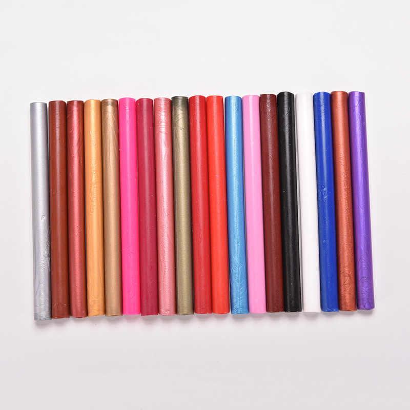 12 kolorów Vintage Retro pieczęć pieczęć woskowa dedykowane wosk pszczeli trzymać plastry z woskiem farby pieczęć pręt wosk uchwyt do stempli