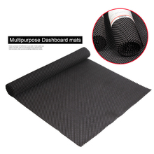 Car Dashboard Trunk Mat Anti-Slip Pad Outside 150cm*50cm Mesh Fabric PVC Foam Anti Slip