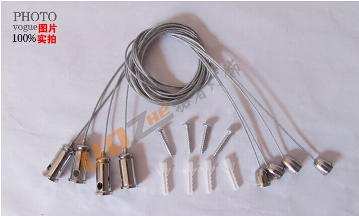 Chandelier Wire Rope Panel Lights Accessories Hanging