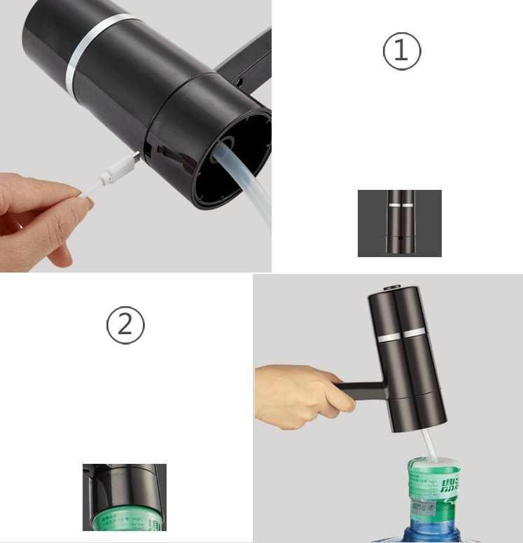 Новый 12 В автоматический Электрический водяной насос Кнопка диспенсер галлон бутылка питьевой переключатель для водяного Насосное устройство