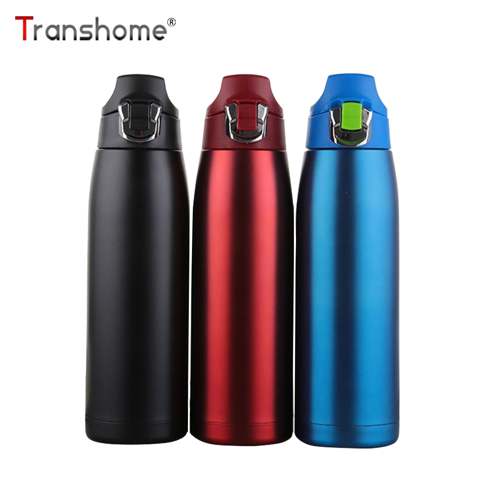 Transhome Flask Thermos-Bottle Coffee Stainless-Steel 900ml Portable Vacuum Drinkware