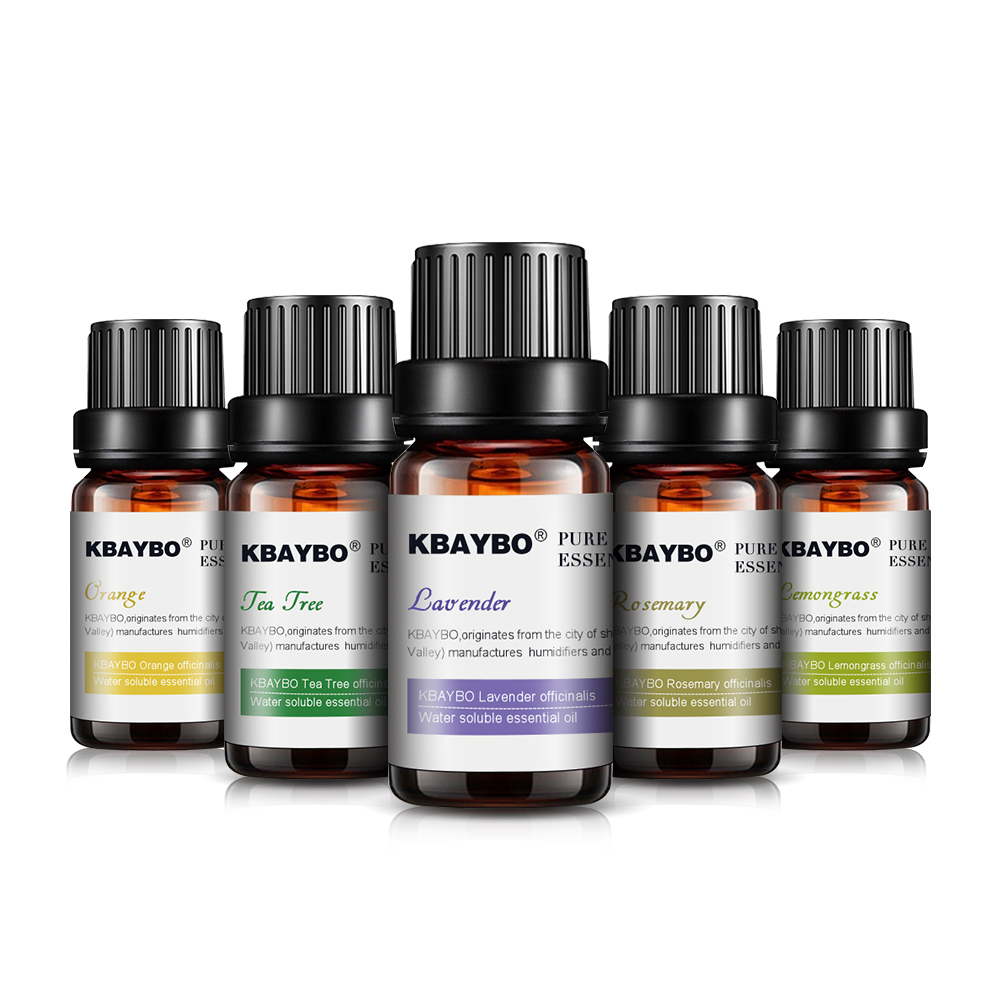 重复essential Oils For Diffuser, Aromatherapy Oil Humidifier 6 Kinds Fragrance Of Lavender, Tea Tree, Rosemary, Lemongrass, Orange