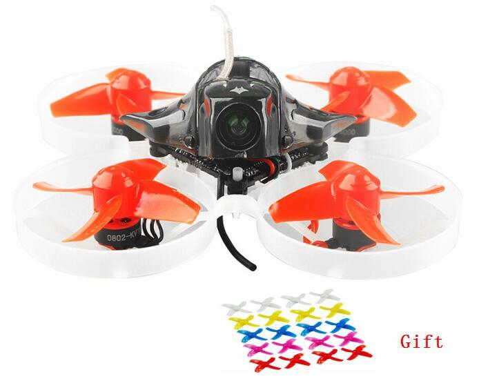 Mobula7 75mm Distância Entre Eixos 2 s BWhoop Brushless FPV Drone Motor de Corrida Corpo Shell Bateria do Transmissor Brinquedos Dos Miúdos 10 par prop para o Presente