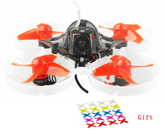 Mobula7 75mm distancia entre ejes 2 s sin escobillas BWhoop FPV Racing Drone cuerpo del Motor de batería del transmisor juguetes 10 par prop para regalo