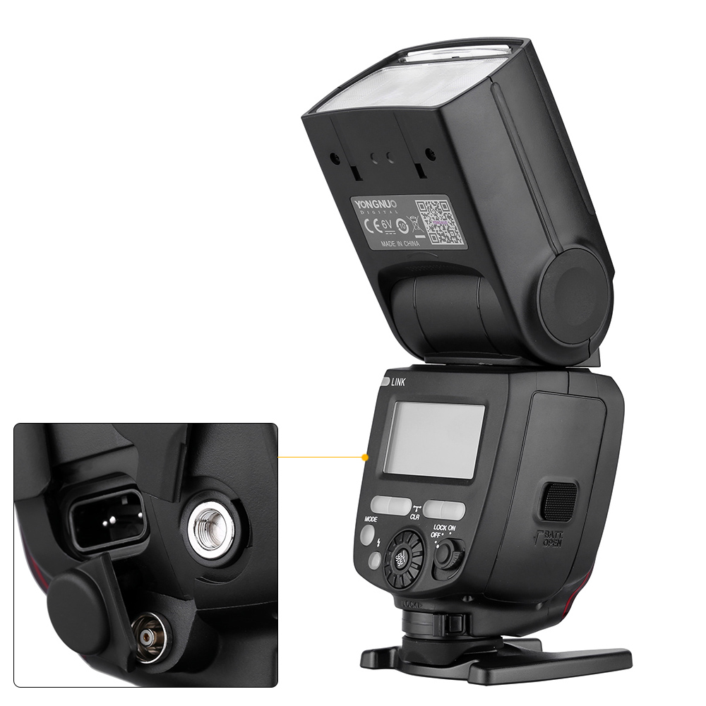Image 4 - YONGNUO YN685 N/C Flash HSS 2.4G GN60 Wireless Master/Slave Speedlite TTL Speedlight for Canon Nikon Camera-in Flashes from Consumer Electronics