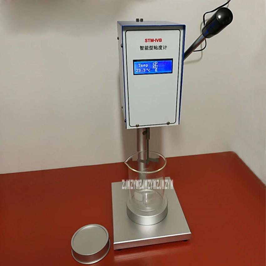 5th Generation Intelligent Viscometer Stm-ivb Digital Rotating Coating Ink Viscosity Meter 110-220v 25w 200r/min 600ml Hot Sale