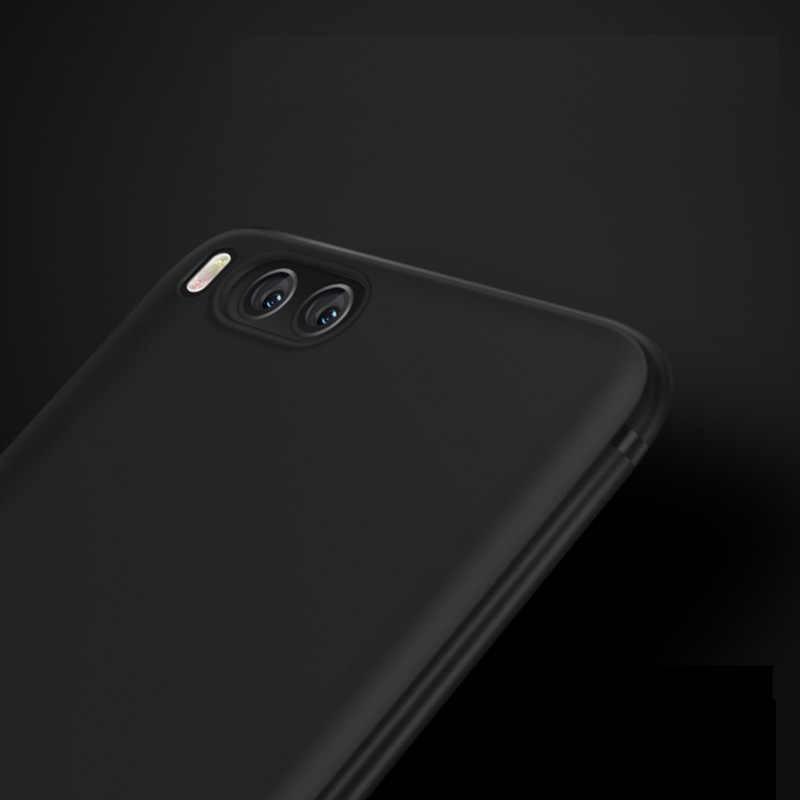 CAPSSICUM mi 6 Ультратонкий Мягкий матовый чехол для Xiaomi mi 6 Чехол s TPU Гибкая тонкая гелевая задняя крышка высокого качества для Xiao mi 6