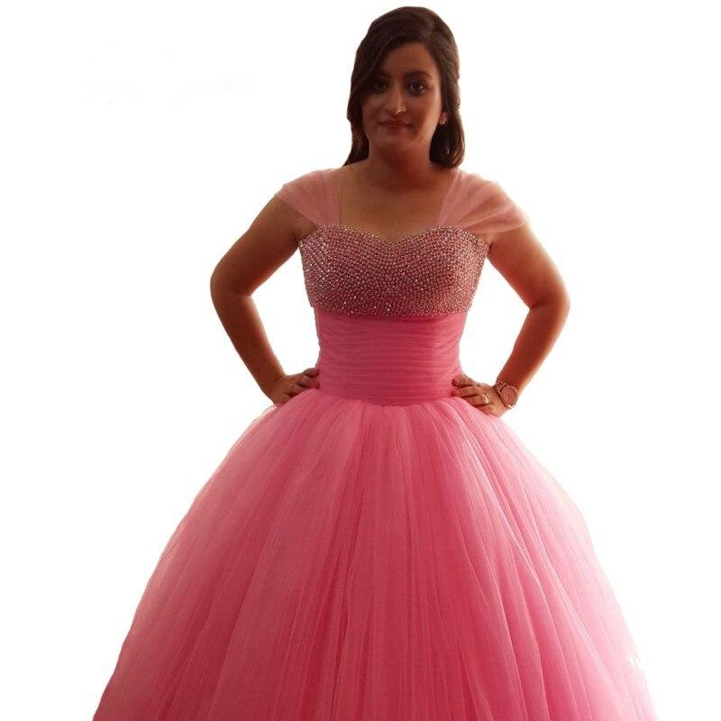 Increíble Bolas De Color Rosa Vestidos De Boda Del Vestido Adorno ...