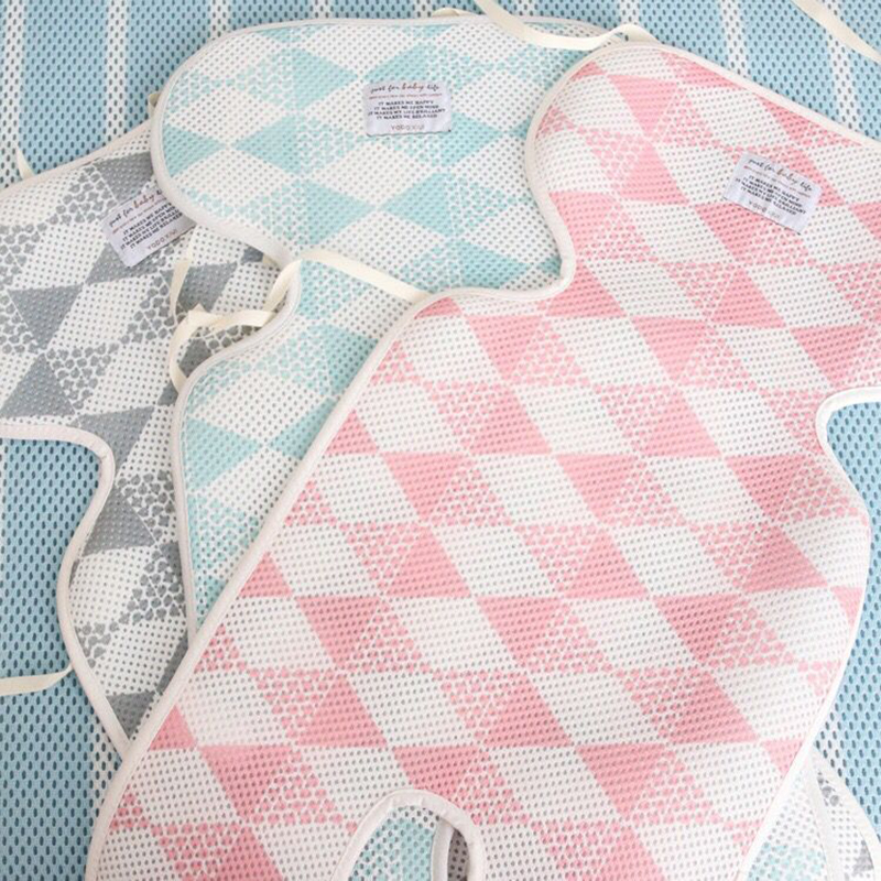 Breathable Mesh Mattress In The Stroller For Thickened Baby Accessories Pram Car