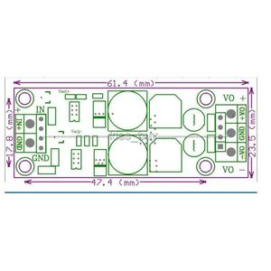 Image 5 - DYKB 30W DC DC Buck convertisseur tension 4.5 30V à ± 5V ± 9V ± 12V ± 15V 3A double sortie alimentation Positive à négative tension