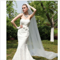 Hot Sale Lady Wedding Veils Mantilla Cathedral Bridal Veil Long Train Shipping s Bridal Veils
