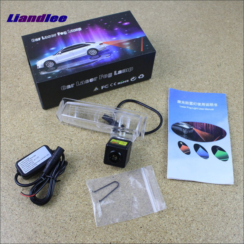 Liandlee Car Tracing Cauda Laser Light For Lexus RX330 RX350 RX400h RX 330 350 400h 2004~2009 Anti Fog Lamps Rear Lights speed test counting module for smart tracing car yellow