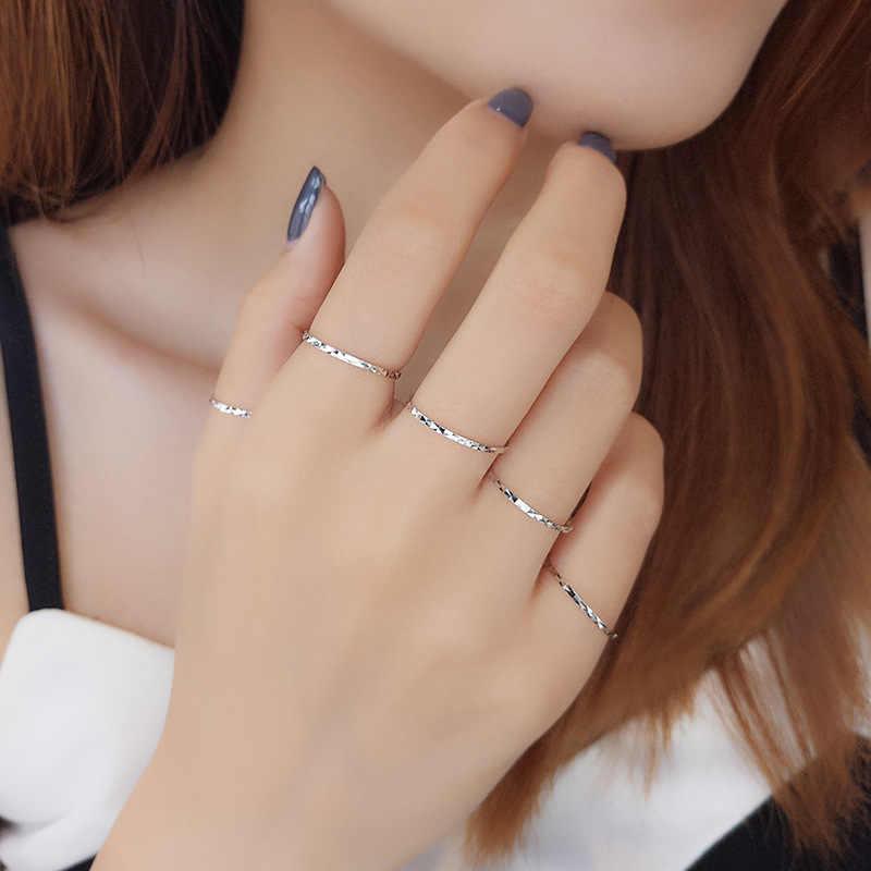 BALMORA 1 ชิ้น MIDI Finger Knuckle แหวนเงินแท้ 100% แท้ 925 แหวนเครื่องประดับสำหรับผู้หญิงหญิงเลดี้ของขวัญ JR130390