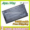 Apexway Black Laptop Battery for Asus A32-F80 F80 F80Cr F80s F81 F81E F81Se F83 F83Cr F83E F83S F83Se F83T F83V F83VD F83VF K41