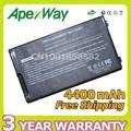 Apexway bateria do laptop preto para asus a32-f80 f80 f80cr f80s f81 F81E F81Se F83V F83T F83S F83 F83Cr F83E F83Se F83VD F83VF K41