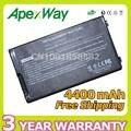 Apexway negro batería del ordenador portátil para asus a32-f80 f80 f80cr f80s f81 F81E F83 F81Se F83V F83T F83Cr F83E F83S F83Se F83VD F83VF K41