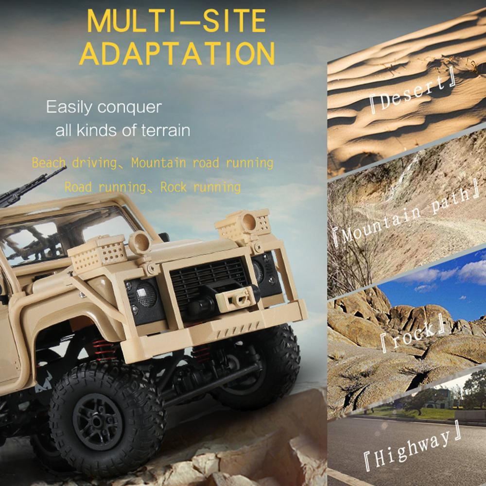 Image 5 - MN 96 RSOV 1/12 2.4G 4WD Crawler RC Car Remote Control Jeep With LED Light-in RC Cars from Toys & Hobbies