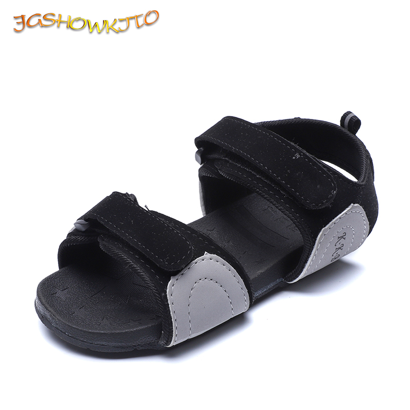 JGSHOWKITO Baby Boys Girls Sandals Fashion Hot Toddlers Big Kids Summer  Shoes Patched Colors Children s Beach e42893258b8a