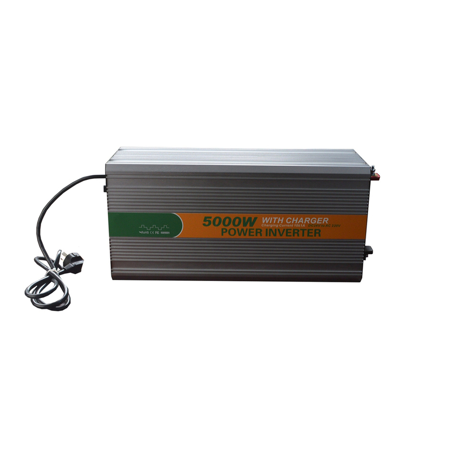 5000W DC 24V to AC 220V charger modified LED sine wave inverter LED Digital display CE ROHS China 5000-242G-C UPS 5000w dc 48v to ac 110v charger modified sine wave iverter ied digitai dispiay ce rohs china 5000 481g c ups