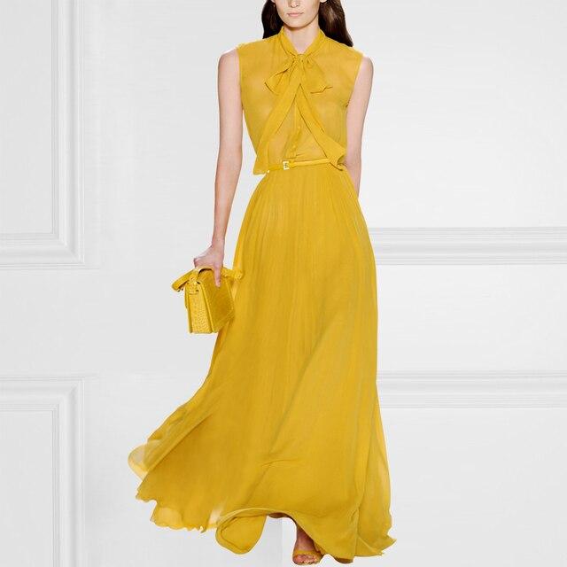 Vestido Vestidos Loose Natural Regular Solid Bohemian Plus Size The New Summer Dress Silk Dresses Women Long Europe Pendulum