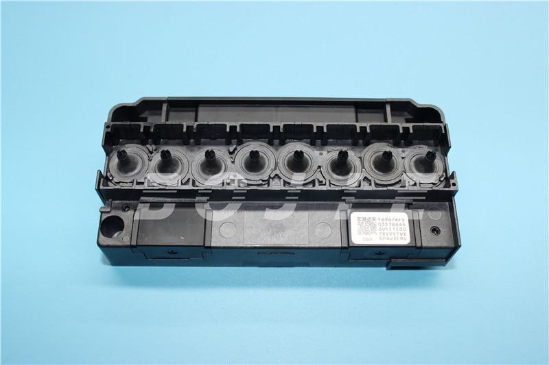 for original 100% solvent dx5 printhead manifold original green connector dx5 solvent printhead