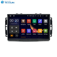 YESSUN Android Radio Car Player For Jeep Wrangler Compass DODGE 2007 2013 Stereo Radio Multimedia GPS