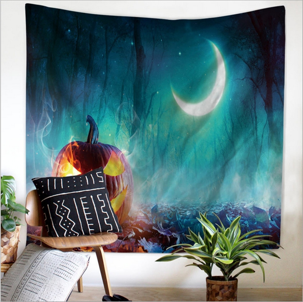 turquoise home decor accessories aliexpress com buy home decor polyester fabric halloween ghosts