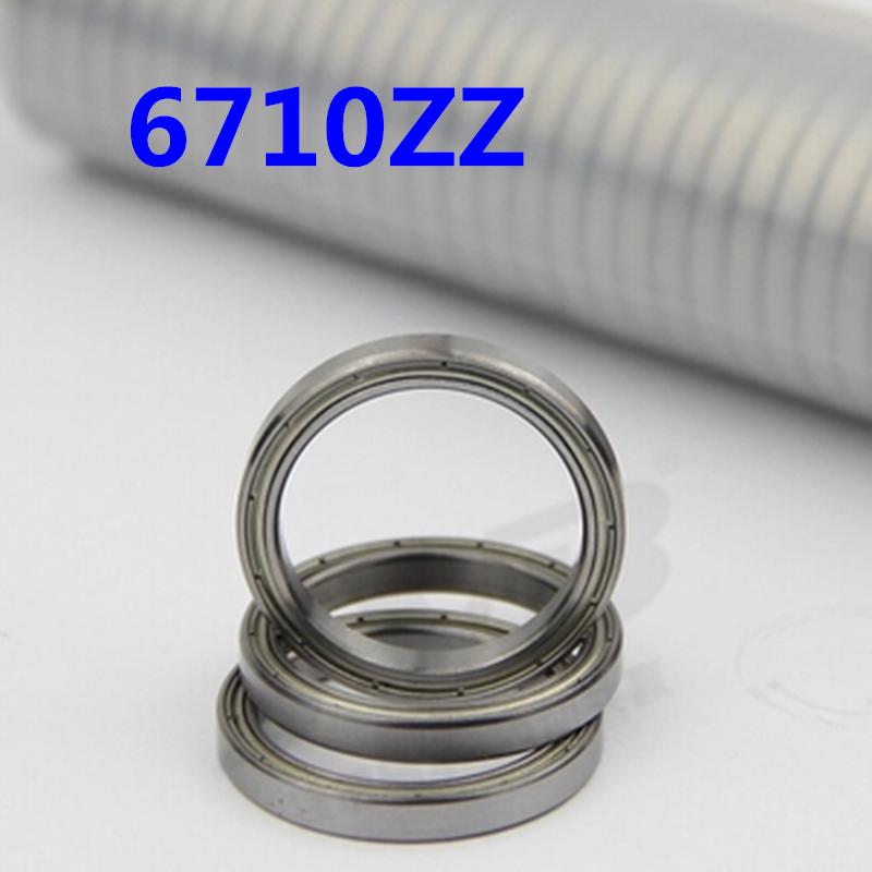 50pcs free shiping The high quality of ultra-thin deep groove ball bearings 6710ZZ 50*62*6 mm