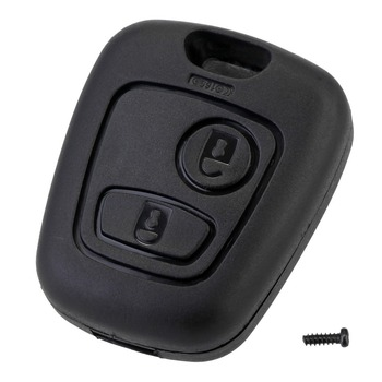 2 Button Remote Key Car Key Fob Case Replacement Shell Cover For Citroen C1 C2 C3 C4 XSARA Picasso For Peugeot 307 107 207 407