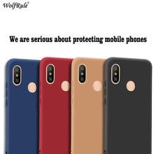 For Xiaomi Redmi Note 6 Pro Case Cover Redmi Note 6 Pro Funda Matte Soft TPU Protective Case For Xiaomi Redmi Note 6 Pro все цены