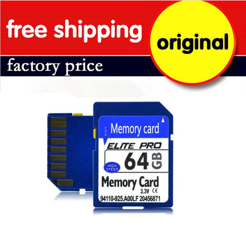 10 PCS/LOT usine en gros SDXC carte mémoire capacité réelle carte SD 128 GB classe 10 nouveau cartao de memoria 128 GB livraison gratuite