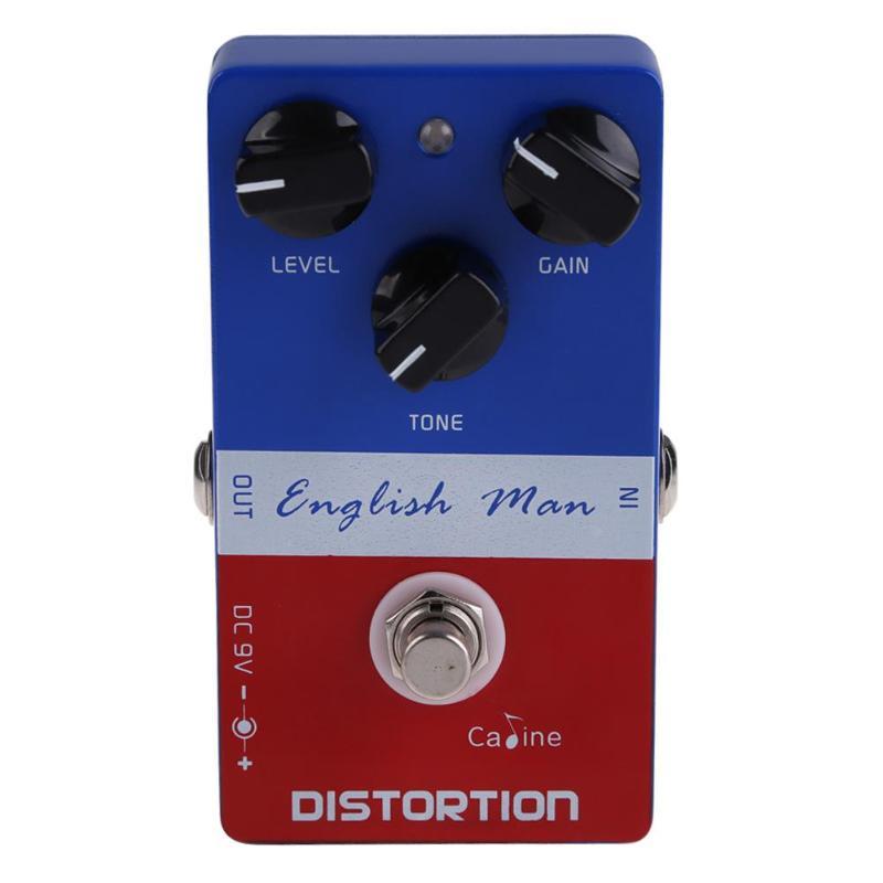 купить Caline CP-14 Aluminum Alloy English Man Distortion Guitar Effects Pedal онлайн