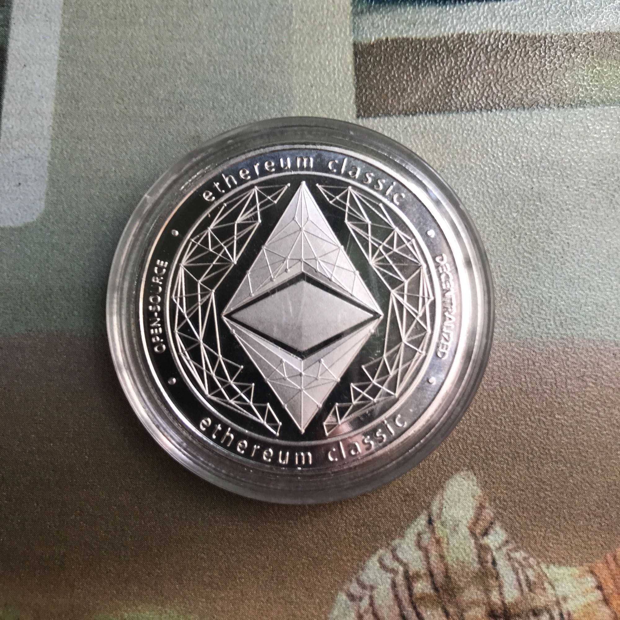 Ethereum Crypto Ethereum Ether American Commemorative Coin Non-currency Coin Collection Lucky
