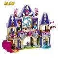 2016 Nueva ZW 809 unids Elfos Skyra Misterioso Cielo Bloques de Construcción del Castillo de Lovely Girls Juguetes Embroma el Regalo Compatible Con Legoe