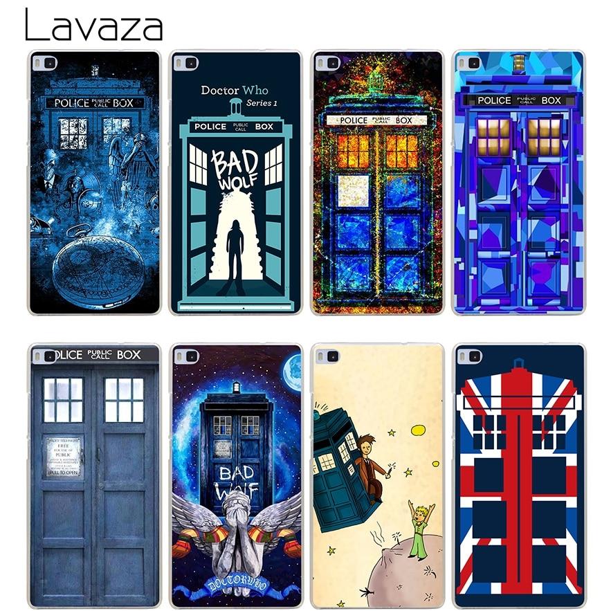Lavaza Tardis Box Doctor Who Case for Huawei Honor 6a 7x 8 9 10 P8 P9 P10 P20 P Smart Mate 10 Lite Pro Mini 2017 ...