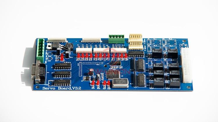 Large Format Inkjet Printer INFINITY Step Servo Motor Board large format inkjet human printer carriage board head board for dx5 printhead