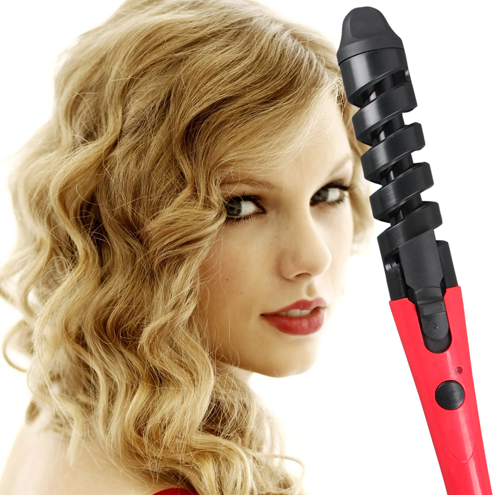 New 2016 Black Red Electric Magic Hair Styling Tool
