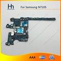 Abierto original de trabajo para samsung galaxy note2 note 2 n7105 motherboard placa lógica con chips