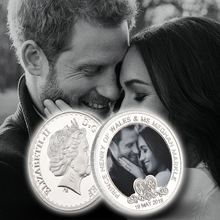WR Harry And Meghan Wedding Commemorative Coins Europe Prince wedding of British royal family Collection Memorial Silver Coin