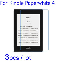 3pcs/lot Soft Clear/Matte/Nano Anti-Explosion Protective Films for Amazon Kindle Paperwhite 4 KWP4 2
