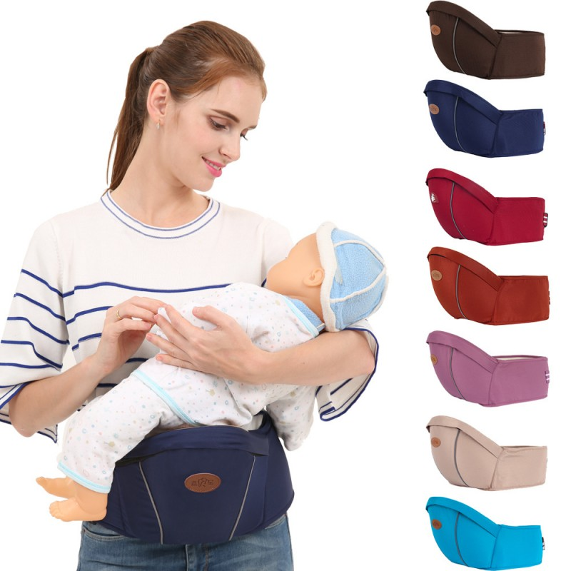 Hot Newborn Waist Stool Baby Carrier For Kangaroo Suspenders Multifunction Infant Hipseat Baby Sling Hold Backpack Kids Hip Seat bethbear comfortable breathable multifunction carrier infant backpack baby hip seat waist stool