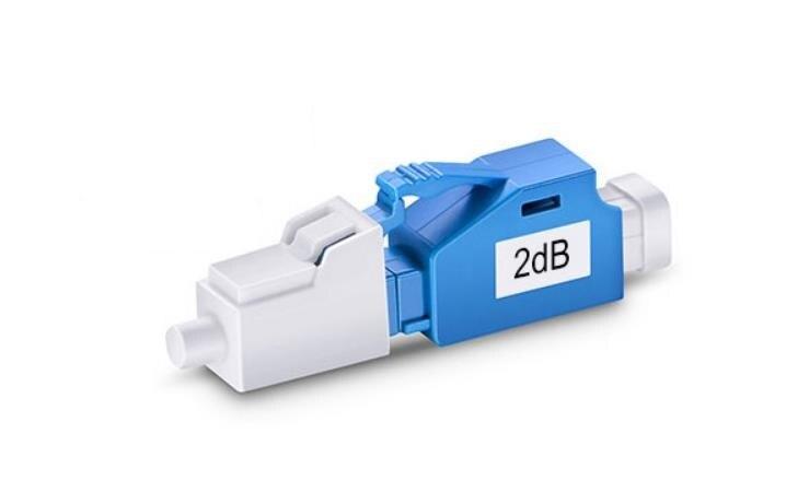 Image 2 - QIALAN LC/UPC 1dB to 10dB Singlemode Fixed Fiber Optic Attenuator, Male Female,-in Fiber Optic Equipments from Cellphones & Telecommunications