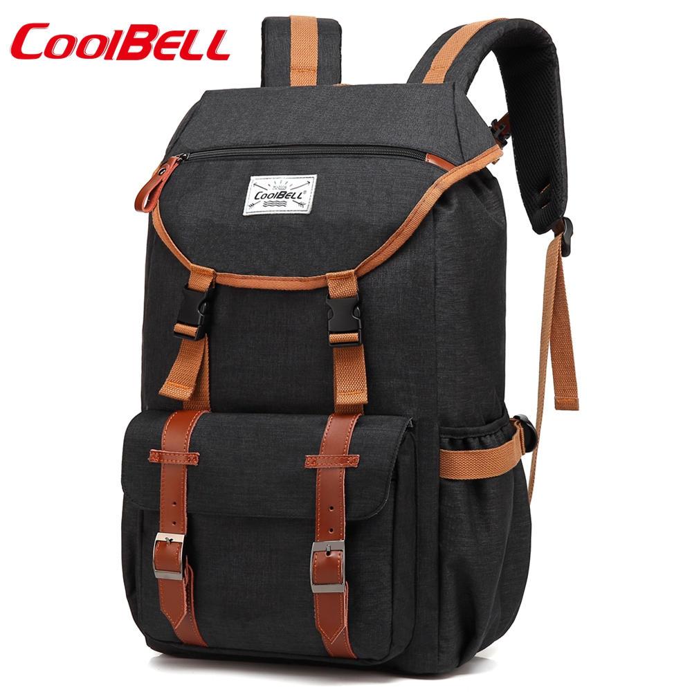 CoolBELL 17.3 inch Backpack Multifunctional Waterproof Business Rucksack Men Women Laptop Travel Luggage Bag For Teenager