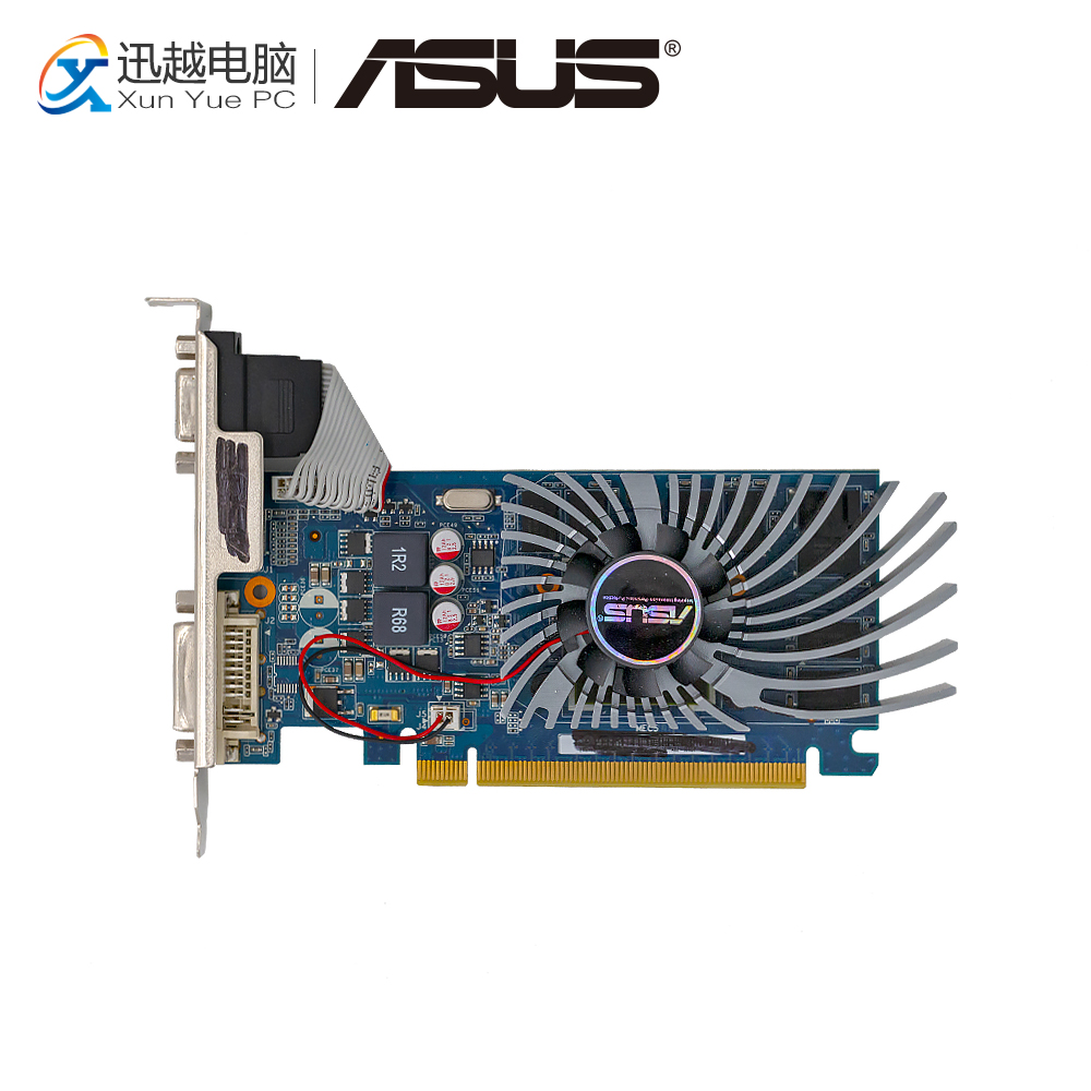 ASUS GT 530 1GB GDDR3 Original Graphics Cards ENGT530/DI/1GD3/DP 128 Bit Video Card VGA DVI HDMI For Nvidia Geforce GT530 est for a c e r aspire 5920g 5920 5520g 5520 mxm ii ddr2 1gb graphics vga video card replace n v i d i a geforce 9650m gt