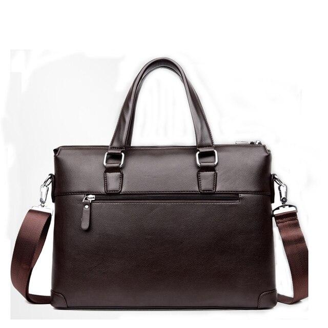 Handbag Men Messenger Bags PU Leather Man Bags Fashion Male Men's Briefcase Man Casual Shoulder Bag 5
